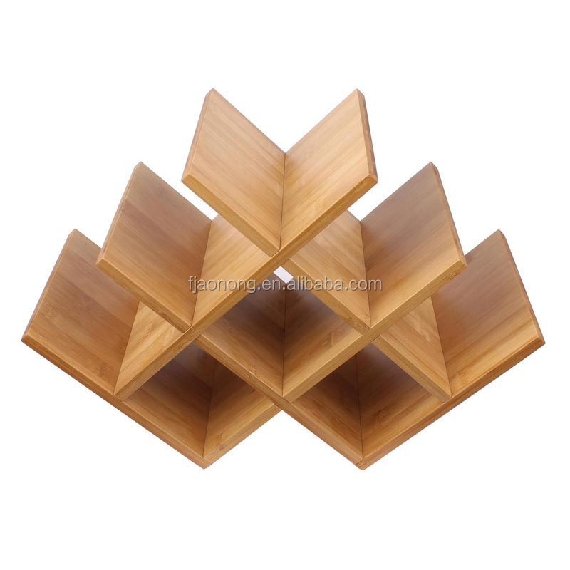 Wholesale discounter home furniture bamboo wine rack