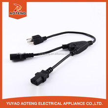 UL 3 core 18 awg wholesale extension cords