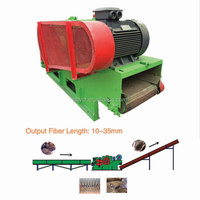 palm empty fruit bunch and coconut shell crushing machine