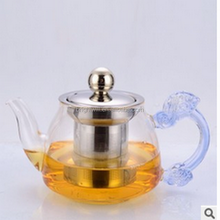2017 China new style High borosilicate heat-resistant glass teapot,Kung fu tea set with the filter tank 200ML