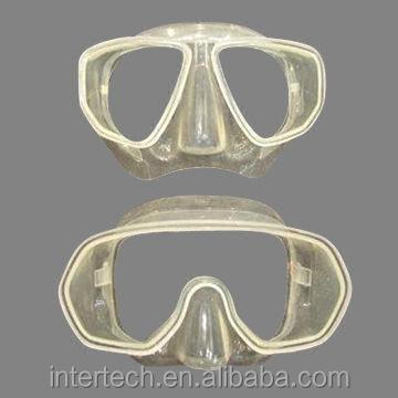 Diving Mask, Made of Crystal Silicone, Customized Orders with Designate Colors Welcomed-home products OEM & ODM services2