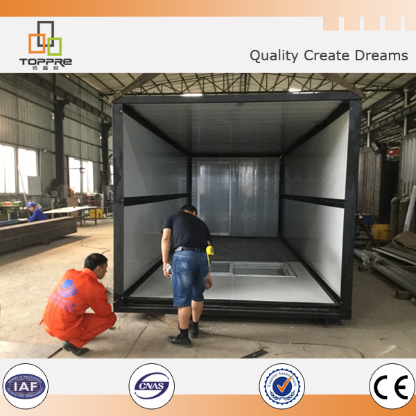 Easy install & dismounting foldable container house expandable home