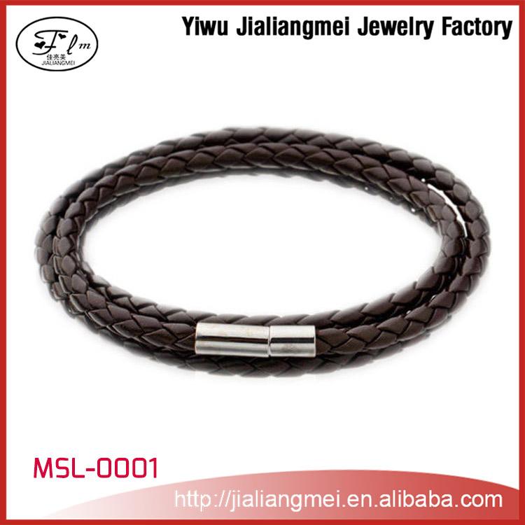 2015 wholesale cheap leather bracelet for buy
