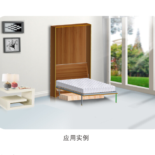Hot Sale Simple Modern Murphy Folding Wall Bed With Sofa Accessories
