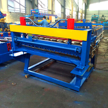 China competitive manufacturer automatic simple color steel coil slitting line hydraulic steel plate slitting machine