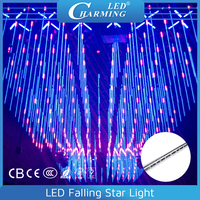 rgb indoor falling drop celing light,club tube,christmas led falling light