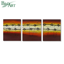 Beautiful combination of painting abstract art, affordable handmade oil painting wholesale, selling paintings Dafen