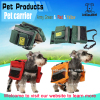 Wholesale HOT!!! Fashion Multi-function dog backpack pet product,Red/Yellow/Army Green Pet carrier