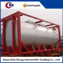 Widely used fuel lpg 40ft iso tank container for sale