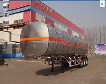China factory fuel tanker specification 42000L fuel tank semi trailer price