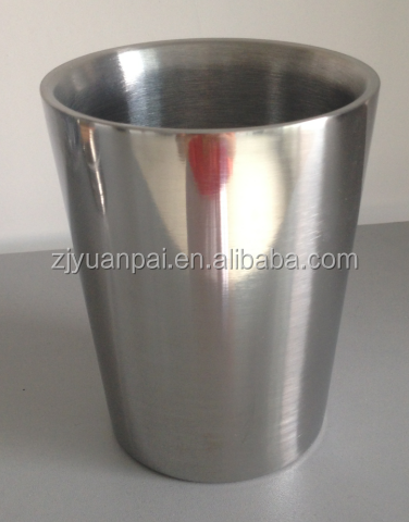 SS Mule Cup,barrel shaped stainless steel beer mug , custom logo etched ideal for promotion