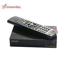 Original SOLOVOX M3S 1080p Full HD Satellite Receiver Youpron CCCAM MGCAM Web Wireless WIFI Set-top Boxes Smart Media Player