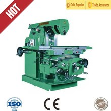 vertical swivel head drilling and milling machine