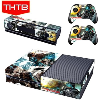 Wholesale removable vinyl skins for microsoft xbox one sticker decal