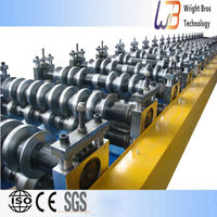 galvanized roofing panel roll forming machine