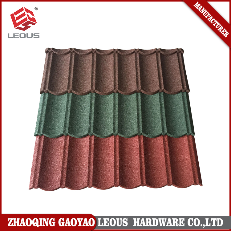 Decorative Stone Coated Metal Roof