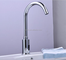 New science automatic touch sensor kitchen faucet with swivel spout
