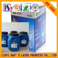 water based lamination glue for paper with plastic film