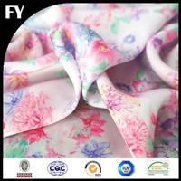 Factory Direct hi-end digital print stretch silk fabric
