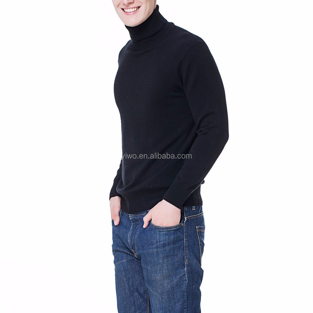 OEM Plain knitted slim latest sweater designs for men