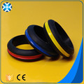 2017 popular design silicone wedding ring