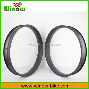 2016 Winow 26er fatbike carbon rim 26inch bicycle fat bike rims supplier 80mm/85mm/100mm