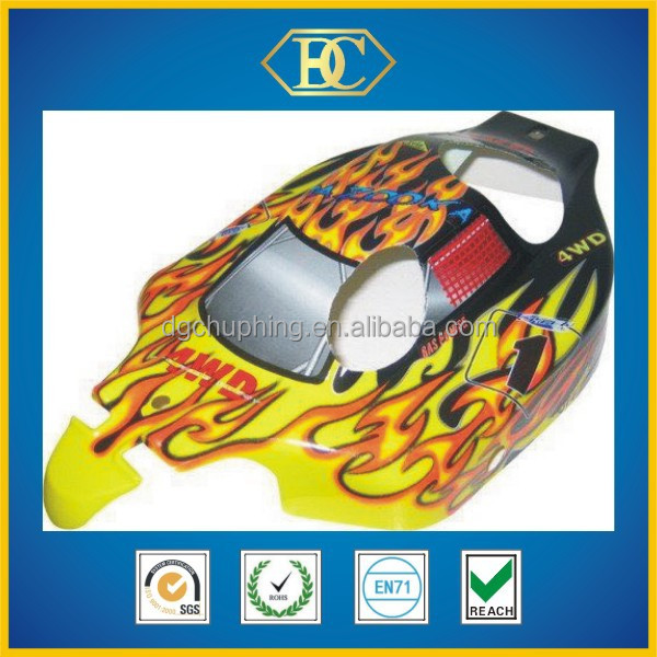 1/5th scale rc cars' body shell
