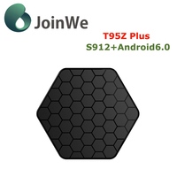 T95z Plus Amlogic S912 android 6.0 Octa-core with Kodi 17.0 with 2GB/16GB Smart TV Box