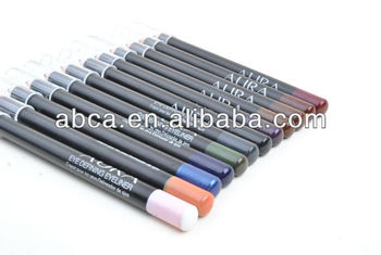 New 15 Color Cosmetic Pencil Waterproof Eyeliner Pen