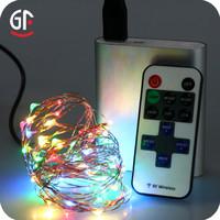 Garden Decoration Multi Color String Lights For Dorm Usb Power Remote Control
