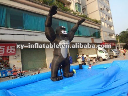 Giant inflatable king kong, inflatable king cartoon