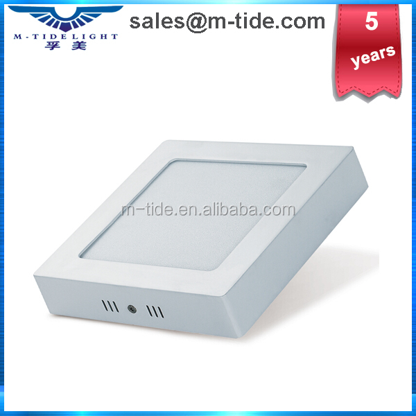 HOT sale square surface mounted ceiling light fixture 12W dimmable recessed or surface mounted led ceiling light square