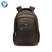 Waterproof nylon fabric laptop backpack shoulder strap laptop bag