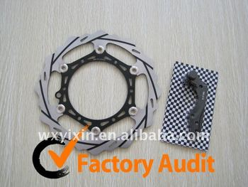 Oversize 270mm with Groove Front Brake Disc Rotor for Husaberg FE 400 FC 500