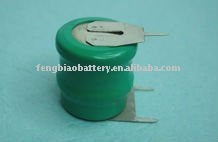 2.4V 110mAh Ni-MH Button cell battery 100H 100H2A3H