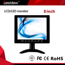 Cheap 8inch lcd touch screen HDMI monitor with SVGA input 800x600 resolution