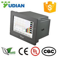 YUDIAN AI-3504M 4 channel touch screen temperature recorder with controller