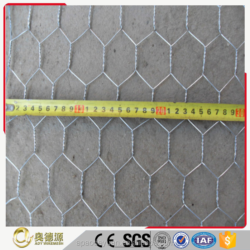 High quality Hexagonal Wire Mesh / Gabion Mesh / Gabion Baskets China factory