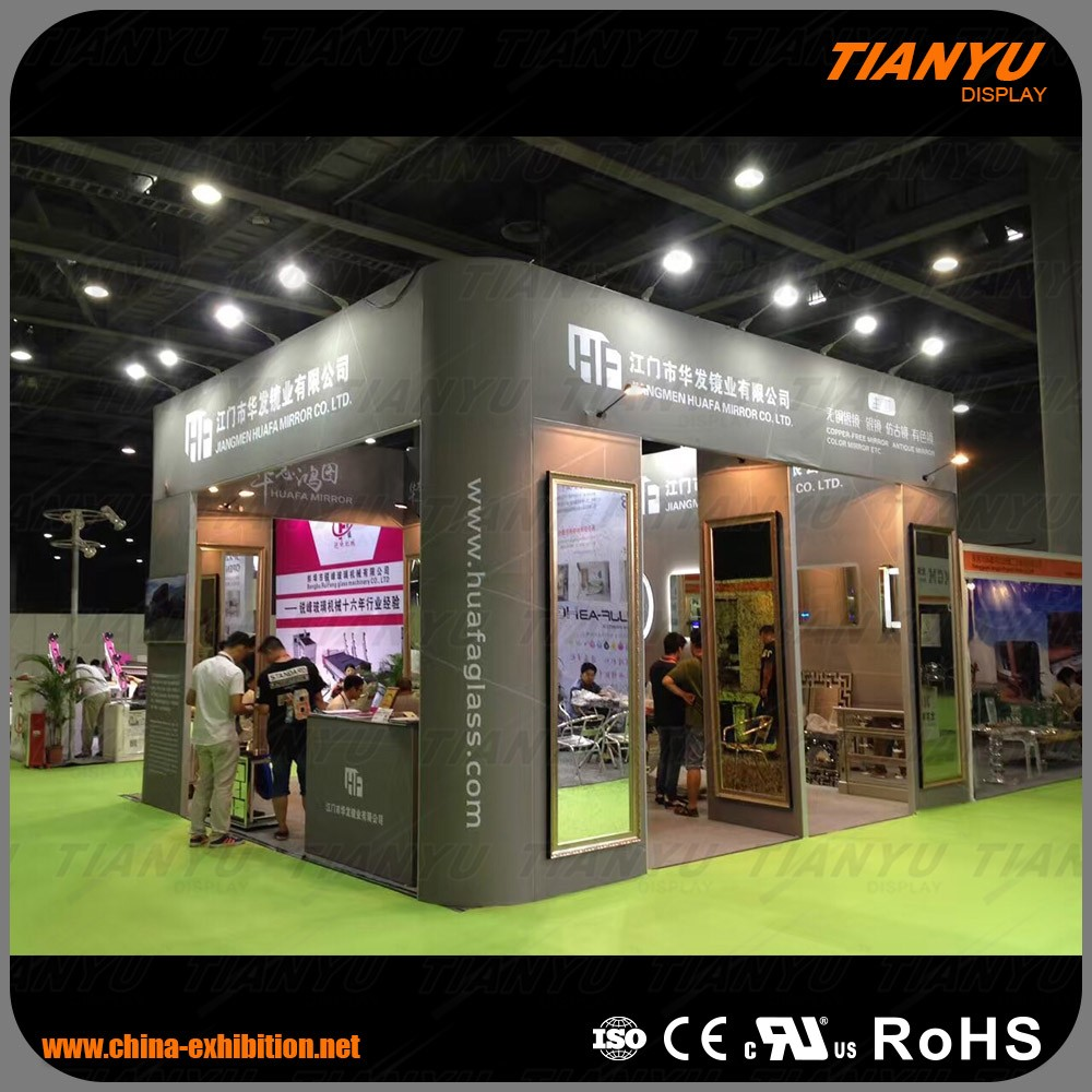 Stable Modular Customized Exhibition Booth Trade Show Display