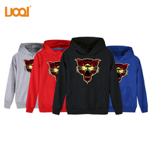 2017 Hot Product HIgh Quality Top Sales Cotton/Ployester Material 280Gsm Pullover 3D Pattern XXXX Hoodies