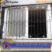 Modern Wrought Iron Window Grill Design,Ornamental Iron Window Grills Design for Home