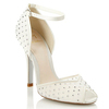 White High Heel Wedding Shoes Style