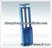 manual penstock sluice gate for irrigation channel