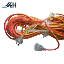 OF Australia 10a Insulated pins power cord with saa approved
