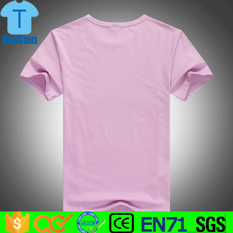 100% cotton promotion New design Cheap plain t shirts