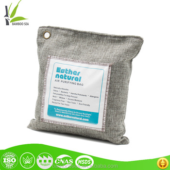 200G Odor Removal Bamboo Charcoal Carbon Bag