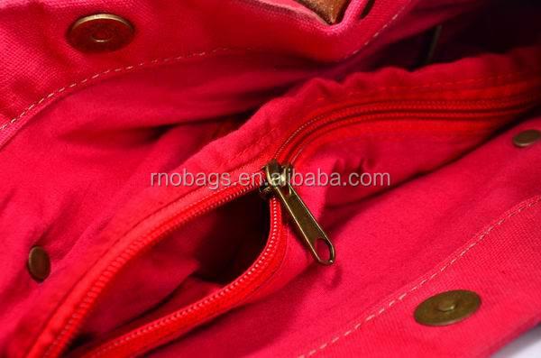 high quality cotton canvas  tote hand bag (13).JPG
