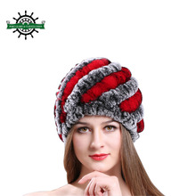 High Quality Soft Knitted Winter Wool Cap Warm Baggy Beanie