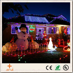 Home Garden Decoration Christmas LED Solar string light With CE RoHS certificate outdoor decoration