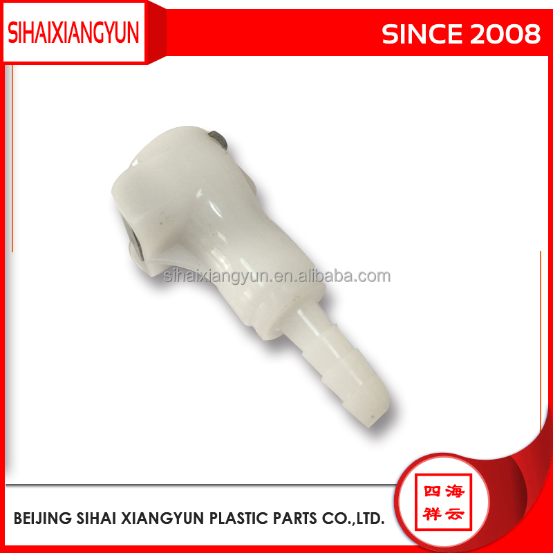 "3/16"" Plastic Quick release fitting body-Non panel mounting BMD1603HB"